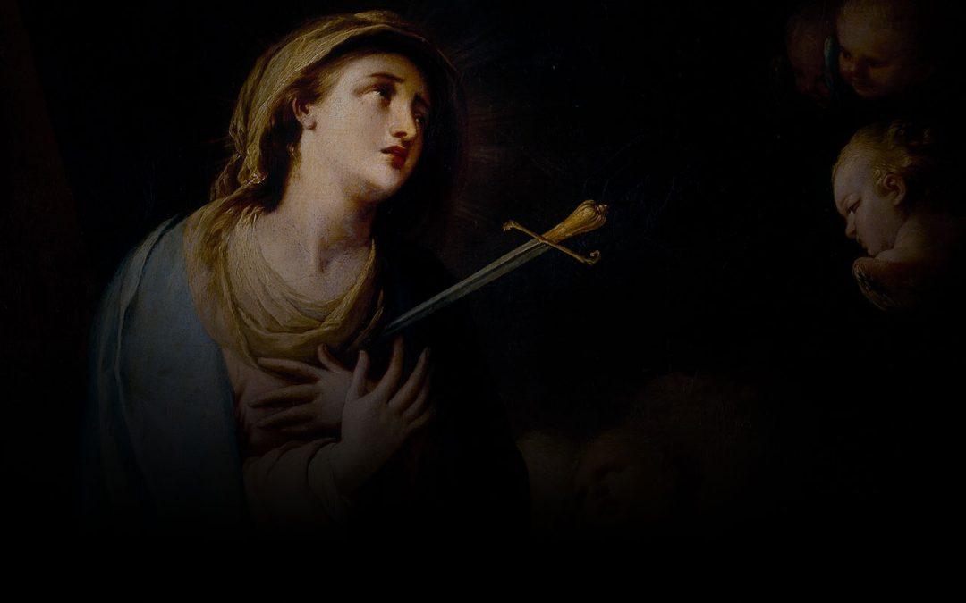Coração Doloroso e Imaculado  de Maria, rogai por nós!