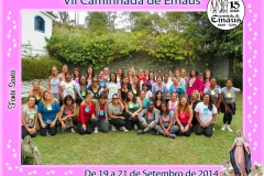 Camanhada de Emaús Feminina - Teresópolis - F. Santa - Setembro 2014