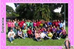 Caminhada de Emaús Feminina Guapimirim 06 a 08 Setembro de 2013