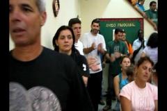 Missa de Abertura 2008 em Macuco